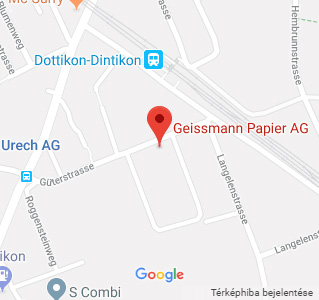 Geissmann Papier AG on Map